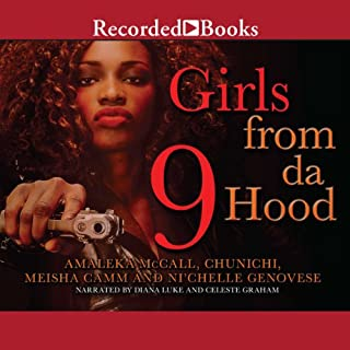 Girls From Da Hood 9 audiobook cover art
