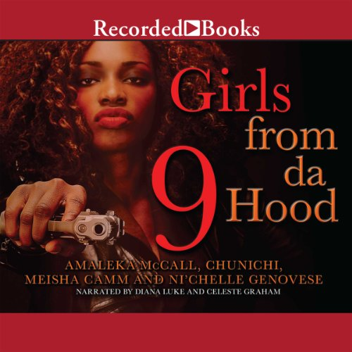 Girls From Da Hood 9 audiobook cover art