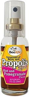 Propolis Spray with Honey, Mint and Pomegranate - 1 FL Oz (30ml)