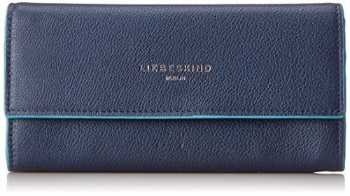 Liebeskind Berlin Damen Frida Marivi Geldbörse, Blau (Ink Blue), 3x20x10 cm
