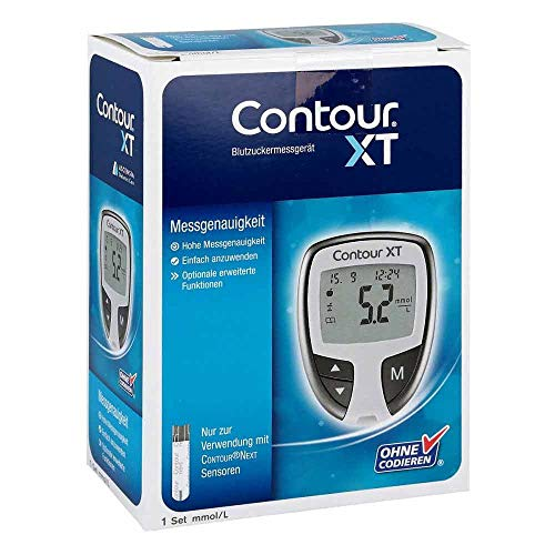 Contour XT Set Blutzuckermessgerät mmol/L, 1 St