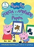 Juega y aprende en casa con Peppa (4 años). Tu cuaderno de vacaciones (Peppa Pig)