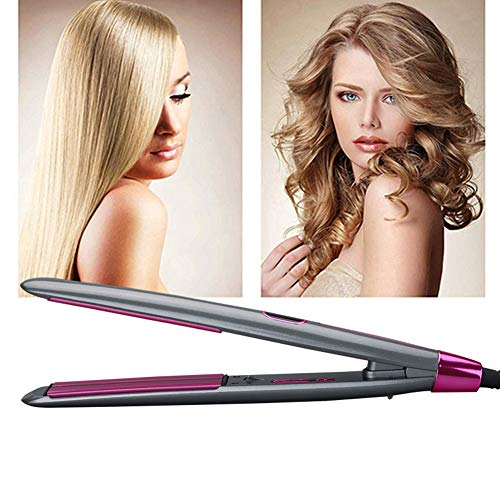 Professional Hair Straightener Krultang, Portable Ceramic Hair Curler Styling Tools, LCD Flat Iron Screen, Beste Geschenk Voor Vrouwen