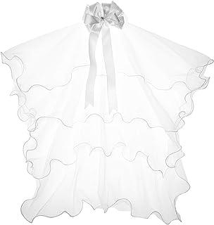 نخستین حجاب های تبلیغاتی دختران با کمان سفید عروس دوزی کاتولیک با کمان سفید