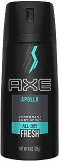 AXE Body Spray for Men, Apollo, 4 oz, 4 count