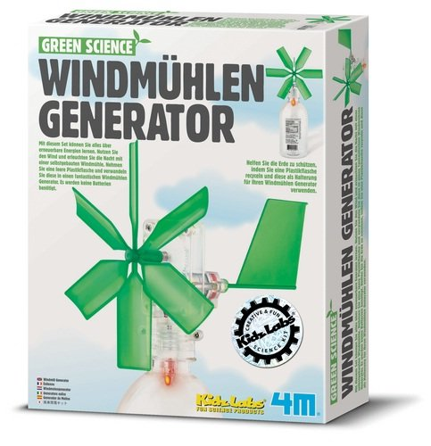 HCM Kinzel 4M 663267 - Green Science - Windmühlen Generator