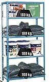 PROFER TOP - Estanteria S/T Azul/Blanca Profer Top 180X90X30