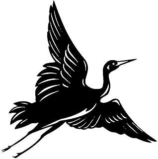 KDSMFA Stickers muraux amovibles en forme d'oiseau pour les amoureux des animaux, accessoires de décoration pour les chamb...