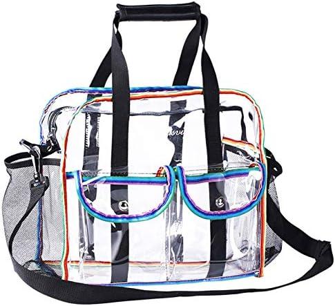 Clear Stadium Approved Bag Transparent Tote Crossbody Bag Portable Adjustable Shoulder Waterproof product image
