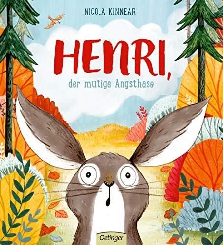 Henri, der mutige Angsthase (Tapa dura)