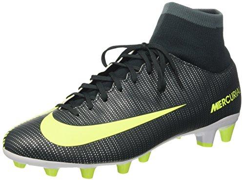 Nike Mercurial Vctry 6 Cr7 DF Agpro, Scarpe da Calcio Uomo, Verde (Seaweed/Volt Hasta White), 46 EU