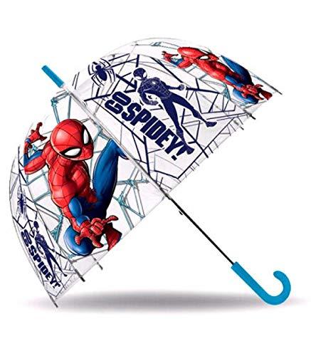 Marvel Chapéu Chuva Bolha Go Spiderman 46cm - KD-MV15874 - 8435507843263
