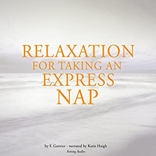 Relaxation for taking an express nap cover art