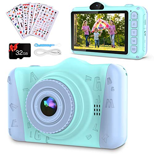 Coolwill Kids Camera for 3-12 Year Old Girls & Boys, 12MP...