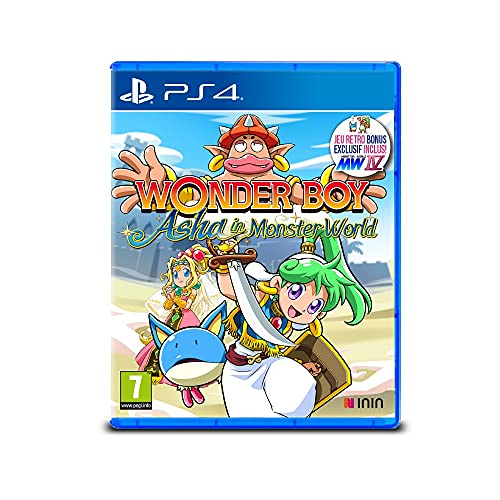 Wonder Boy Asha In Monster World (PS4)