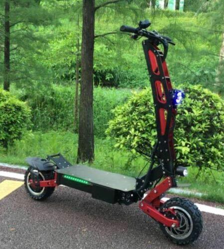 FLJ 3200w/60 Two Wheel 11in. Folding Off Road...