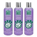 Champú Perros Pelo Blanco 300ml   Pack de 3 Unidades   Intensificador del Color, con pH Neutro Adaptado al Perro