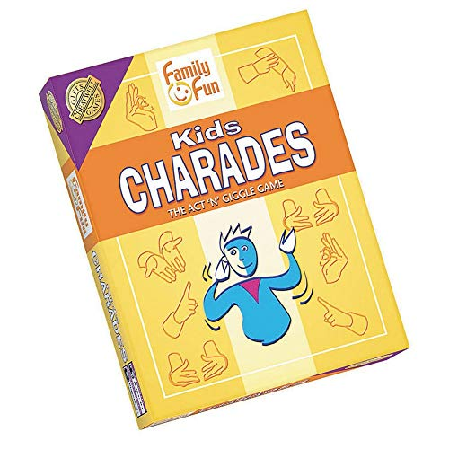 Charades for Kids - An Imaginative Classic Party Game for Young Children - Features 50 Cards With...