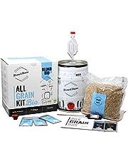 Brew&Share | Blond Bio Beer Making Kit. Biologisch certificaat | Slechts 2 weken | Mouten brouwen. Keg Fermentatie