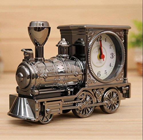 LD-Speciaal design nieuwe train vorm wekker vintage design wekker elektronische mini draagbare wekker A
