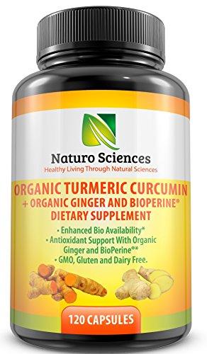 Organic turmeric curcumin by Naturo Sciences