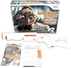 Simply Silver - New Wii/Wii-U Cabela`s DANGEROUS HUNTS 2013 Game & Gun Bundle Set Top Shot kit
