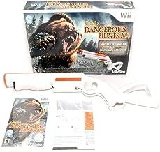 Simply Silver - New Wii/Wii-U Cabela's DANGEROUS HUNTS 2013 Game & Gun Bundle Set Top Shot kit