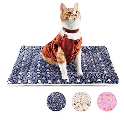 Katzenbett Katzendecke Katzenkissen Hundebett Hundedecke Hundekissen Katzenbett Flauschig Waschbar Katzendecke für Hunde Hundematratze Hundekistenbett Katzen Bett Weiche rutschfeste Waschbar XS