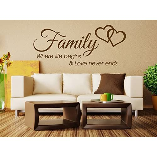 Family Wall Quotes Amazon Co Uk