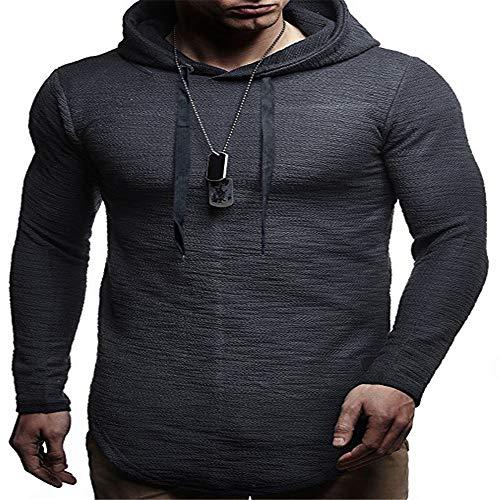 SFYZY Men's Casual Lightweight Long Sleeve Hoodie Shirt Sweatshirt Fashion Long Sleeve Hoodie Casual Lightweigh Hipster Hip Hop Tees Hooded Sweatshirts