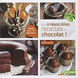 livre Irrésistibles Recettes au Chocolat