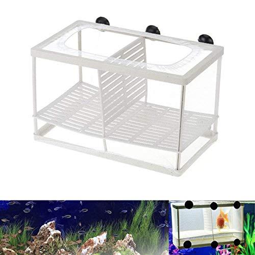Heatigo Fischinkubator Käfig Aquarium Brüterei Aquarium Isolationsbox Fingerling Box Jungfisch Inkubator Inkubator (Mit Isolierplatte)