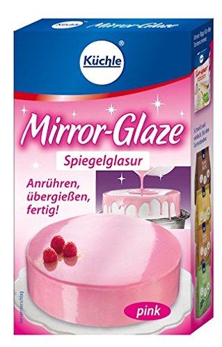 Küchle - Mirror Glaze Spiegelglasur pink Tortenglasur - 95g