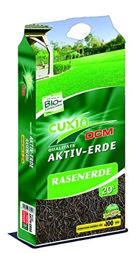 CUXIN DCM AKTIV-ERDE Rasenerde 20 l - Rasenneuanlage Rasen nachsähen