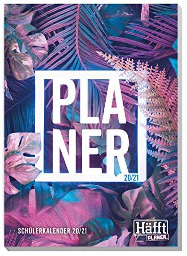 Häfft PLANER A5 2020/2021 [Tropical] Schülerkalender, Hausaufgabenheft, Schüler-Tagebuch, Schülerplaner mit spannendem Wissen, lustigen Sprüchen und coolen Stickern!