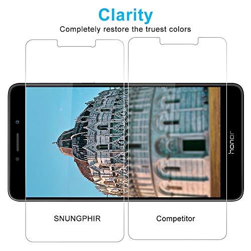 Schutzfolie für Huawei Honor 6x Panzerglas [3 Stück], 9H Härte Panzerglasfolie Displayschutz für Honor 6x, Anti-Kratzen Schutzglas, Ultra Klar, Bläschenfrei, Huawei Honor 6x Displayschutzfolie - 4