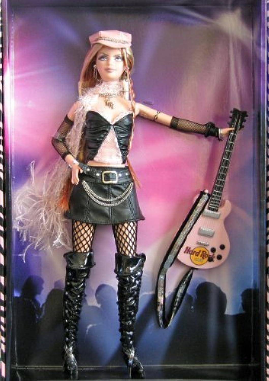 mejor calidad 2004 Barbie Collector plata Label, Hard Rock Barbie Barbie Barbie Doll with Guitar  (1 Each) Retirojo,  2 in the Hard Rock Cafe Barbie Doll Collection. by Mattel  40% de descuento