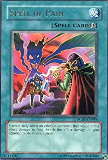 Yu-Gi-Oh! - Spell of Pain (RGBT-EN090) - Raging Battle - Unlimited Edition - Rare