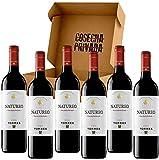 Natureo Vino Sin Alcohol - 6 Botellas - Vino Tinto - Vino Desalcoholizado -Seleccionado y enviado...