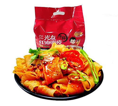 光友 紅油面皮 香辣味 4食入り 400g 即席中華麺 インスタント料理 中華食材