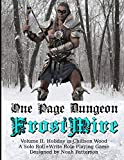 One Page Dungeon: Frostmire: Holiday In Chillson Wood