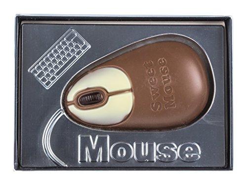 Ratón de ordenador de chocolate con caja de regalo - 60 g