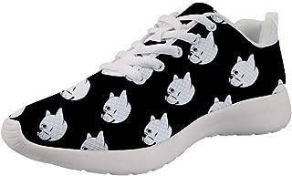 Upetstory Lovely Design Women Walking Sneakers Sports Fitness Running Jogging Tennis Shoes