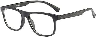 Inlefen Optical glasses ultralight Retro glasses Unisex Clear Lenses Eyewear