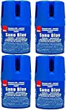 Sano Bleu Nettoyant Ménager Toilette Cuvette WC Tablette Chimique Bloc Colore l'eau 150 gr ( Blue Lot de 4 )