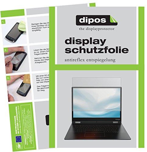 dipos I 2X Schutzfolie matt kompatibel mit Lenovo Yoga A12 Folie Bildschirmschutzfolie