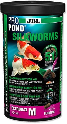 JBL- ProPond Silkworms M 1 Liter Seidenraupen Goody für Koi Pro Pond (12,95 €/L)