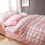 QXXKJDS Juego de ropa de cama para cama de matrimonio, funda de edredón y funda de almohada, diseño de dibujos animados, tamaño Queen para Adlut Home Textile Home (color: 9, tamaño: 200 x 230)