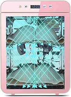 Multifunktionsdesinfektion Sterilisation Wäschetrockner, kompakte Entfeuchtung und Geruchsentfernung Medium Temperatur Trockner for Kinder Produkte Masken Unterwäsche Handy 20L 113  Color : Pink