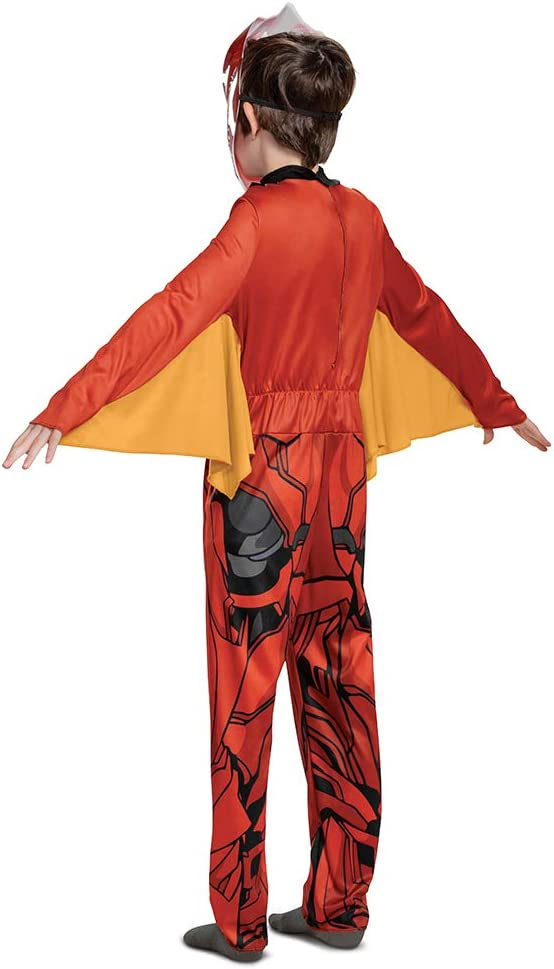 10-12 Bakugan Dragonoid Costume Kids Show Inspired Character Outfit for Kids Classic Child Size Large